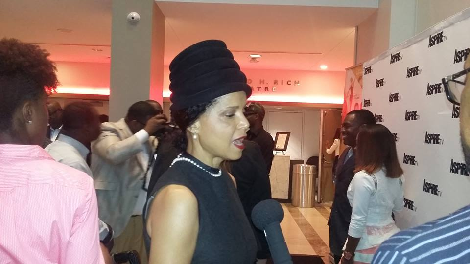 Actress and Activist Victoria Rowell at Aspire TV
