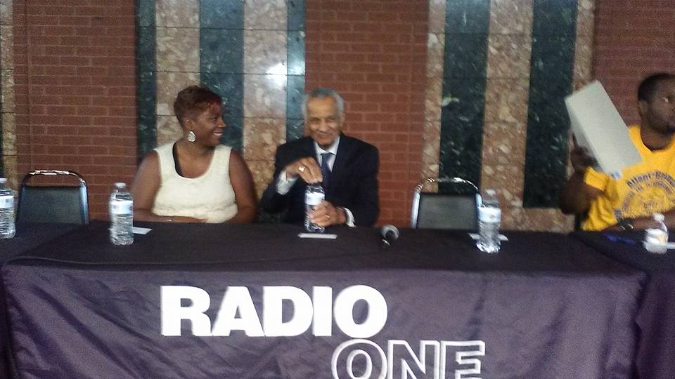 Civil Rights Legend- C T Vivian at Radio One Host Race relations event