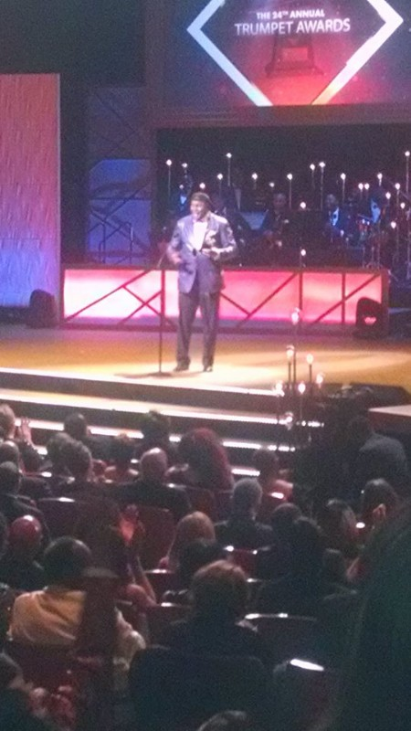C Harper @ the Stellar Awards- George Wallace