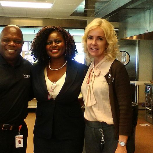 Test kitchen Engineer of Popeyes with C Harper and Popeyes Mgr