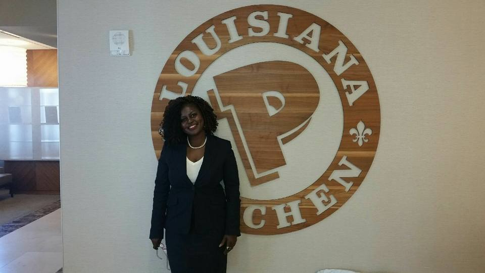 C Harper at Popeyes Corporate Office