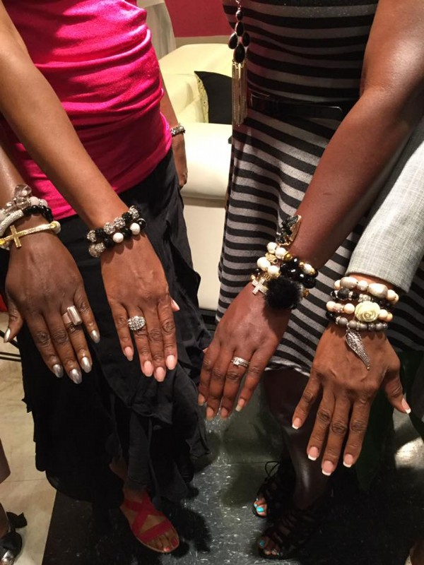 Ladies being armed by Armher Jewelry Maker Owerri Washington